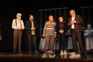 'Adalet Sizsiniz' ALİKEV yararına Antakya'da sahnelendi