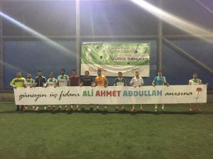 4. Ali Ahmet Abdullah Futbol Turnuvası Başvuruları Başladı!