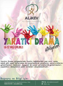 ALİKEV'de Çocuklar İçin Yaratıcı Drama Kursu Başladı