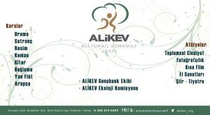 ALİKEV'de Yeni Dönem Kurs ve Atölye başvuruları başladı.