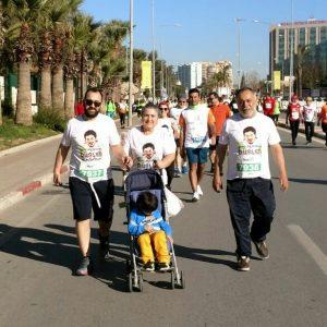 Emel Korkmaz oğlu Ali İsmal'in düşleri için koşmaya devam ediyor