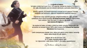 """Ali İsmail Korkmaz Vakfı, 28 STK'ya bağış yaptı: """"Ali İsmail'in düşlerine güç vermek için"""""""